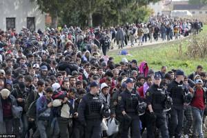 Kriegsflüchtlinge